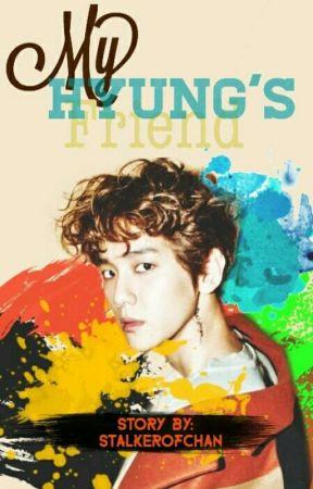 My Hyung's Friend • Texting 'CHANBAEK' by stalkerofchan