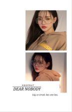 dear nobody → h.g [1] by keepnut