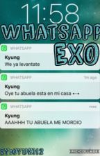 EXO WHATSAPP by Oyuky12