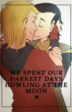 We spent our darkest days howling at the moon // Thorki by EmiJey