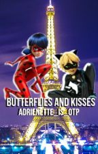 Butterflies and Kisses ~ Miraculous One Shots by adrienette_is_otp