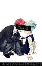 blood { Karma x Nagisa & Alois x Ciel } by animeshipperr