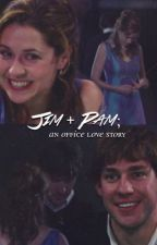 Jim + Pam; an office love story by pambeeslys