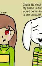 Ask Chara And Asriel! by SapphireofEternaty