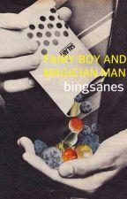 Fairy Boy and Magician Man |chanbaek| by bingsanes