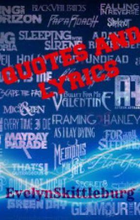 Famous Rock And Metal Bands Quotes And Lyrics Wattpad