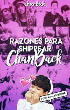 Razones Para shippear ChanBaek✨Jongdae  by chxnbxk