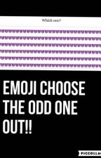 Emoji pick the odd one out by 133Caitlin133