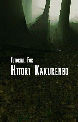 Tutorial For Hitori Kakurenbo What Is Hitori Kakurenbo Wattpad