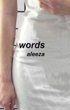 words // poetry ii by mariaaleeza