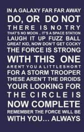Star Wars Quotes Obi Wan Kenobi Wattpad
