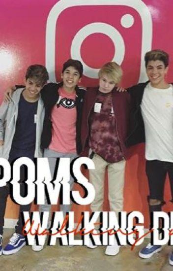 Poms- walking dead