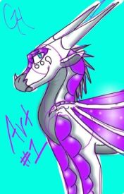 Galaxy The Hybrid (Art 1) (OLD AND BAD) by GalaxyTheHybrid