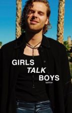 girls talk boys ↑ lashton ✓ by CRazyMofo137
