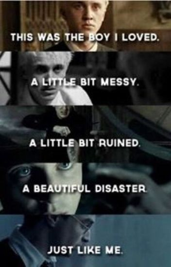 A Beautiful Disaster {Draco Malfoy x Reader}