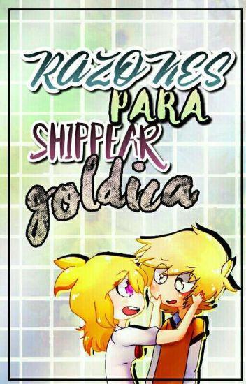 Fnaf:Hs →Razones Para Shippear; Goldica←