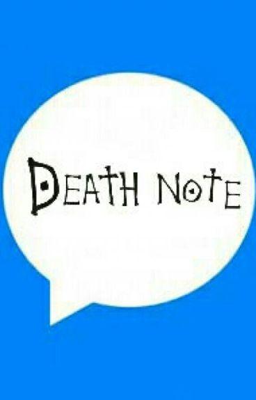 Death Note Mesajları