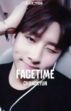 FaceTime || Changkyun by -hamstaX