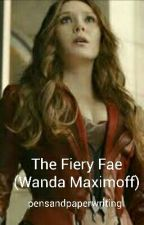 The Fiery Fae (Wanda Maximoff) by avengersaremylife