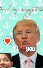You Can Wear My Sweatshirt, Mr Trump by MuseyMarshMellowCat