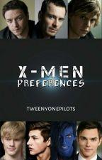 X-Men Preferences by Elaine_Namikaze