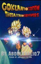 Goku And Goten: The Saiyan Survivors by AbdulKhaliq7
