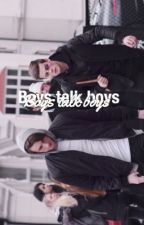 Boys talk boys || Jian by irwincaylen