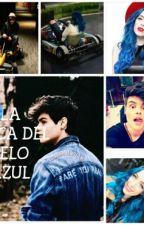 LA CHICA DEL PELO AZUL- Abraham Mateo Y Tu by Daddy_CliFford__