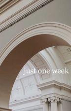 Just One Week;;jikook by yokonani