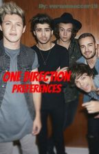 One Direction Preferences by vernonsoccer19