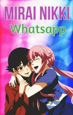 PAUSADA||Whatsapp Mirai Nikki[YukiYuno] by directioner_2323