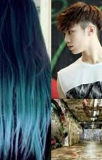 The Girl With The Blue Hair (Astro Rocky Fanfic) by _kpopfics_