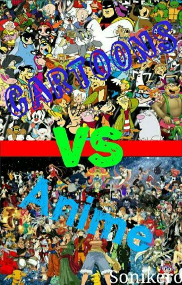 Cartoons Vs Anime