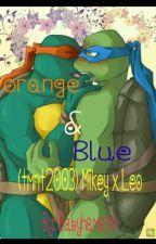 Orange & Blue by babyhamatoducklingzz