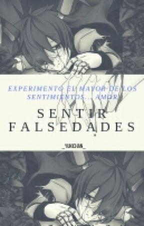 Sentir falsedades. #PFConcurso  by -Yukki
