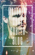 Matthew Gray Gubler Blog by MissBeebo