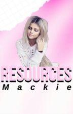Resources  by MackieandOwl
