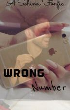 Wrong Number *A Sohinki Fanfic* by lcorns_wifey