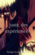 [Ereri] Juste des Expériences  by lagardiennedesmot