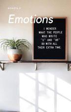 emotions | ✓ by gyueomi