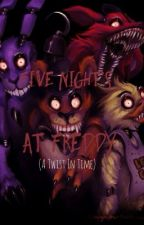Five nights at Freddy!!( a twist in time ) by Rosylamochi