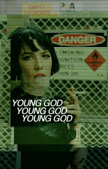 young god ↪ chris evans