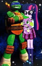 TMNT and MLPEG HIGH SCHOOL LOVE STORY  by liacamila1999