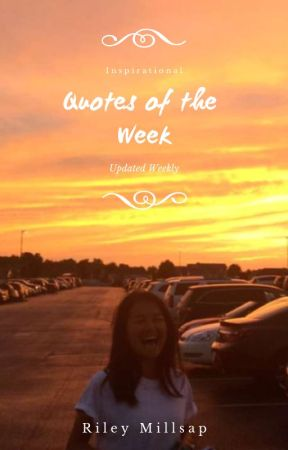 quotes of the week wattpad