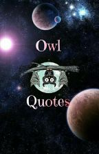 Owl Quotes by Ours_Writers_Land