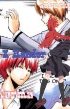 Akabane Karma x Reader x Asano Gakushuu ~ Cockblocked by QueenKotomi