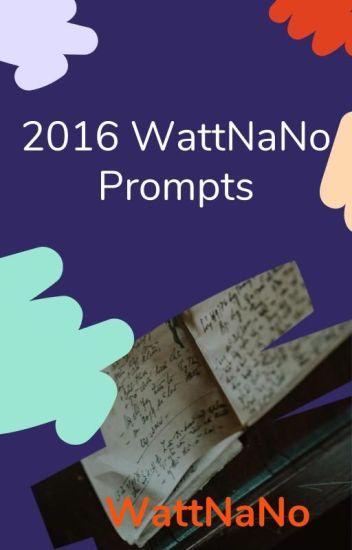 2016 NaNo Prompts
