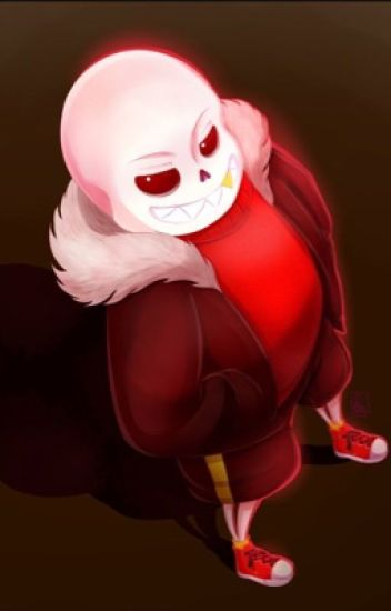 I'm not alone... (Underfell Sans X Reader)