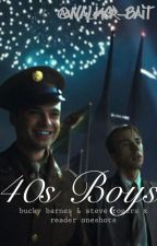 40s Boys - Bucky Barnes & Steve Rogers Oneshots by Walker-Bait