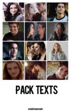 Pack Texts | Teen Wolf by voidxhannah